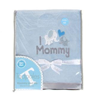 Tadpoles Mommy & Me Plush Blanket Set