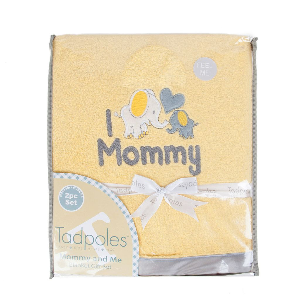 Tadpoles Mommy & Me Plush Blanket Set