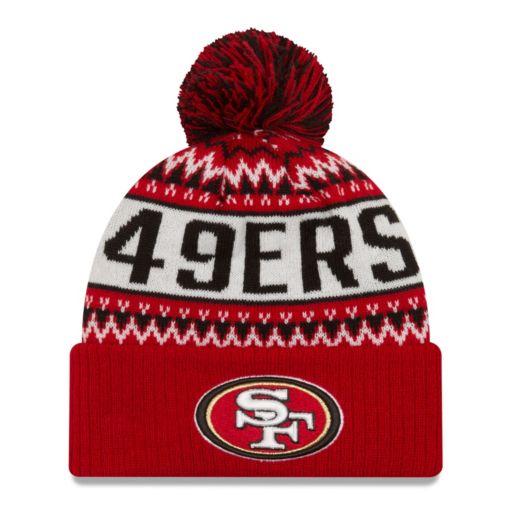 Adult New Era San Francisco 49ers Wintry Beanie