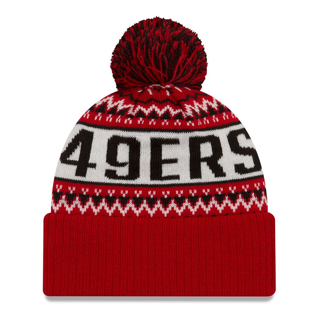 Adult New Era San Francisco 49ers Wintry Beanie