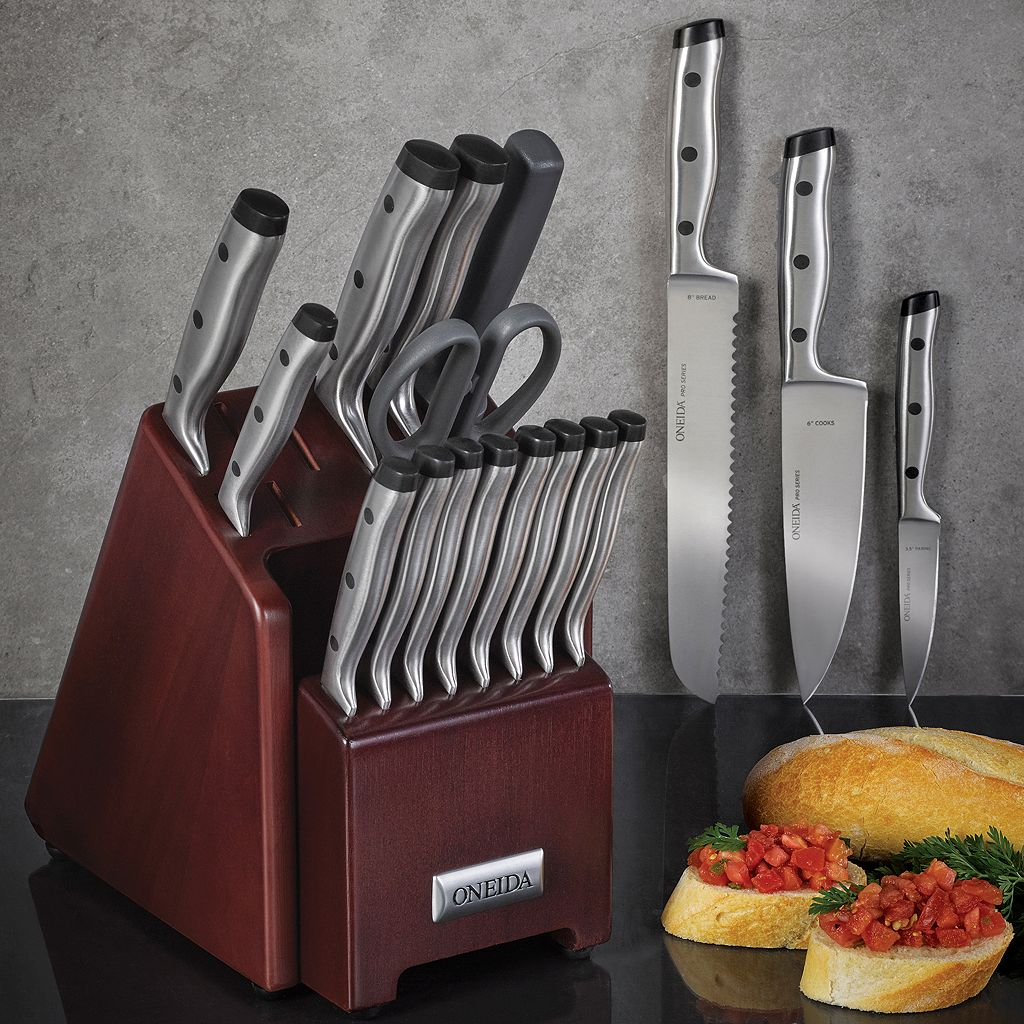 Oneida 18-pc. Pro Stainless Steel Cutlery Set