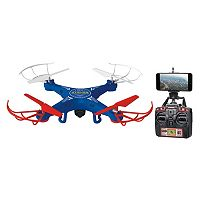 World Tech Toys Striker Live Feed Spy Quadcopter Drone