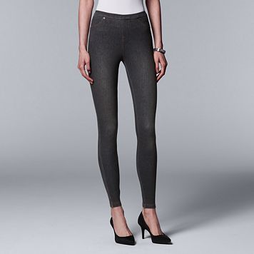 Simply Vera Vera Wang Denim Leggings
