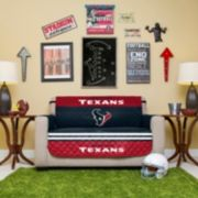 Houston Texans Quilted Loveseat Cover