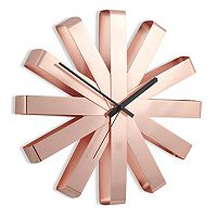 Umbra Ribbon Wall Clock