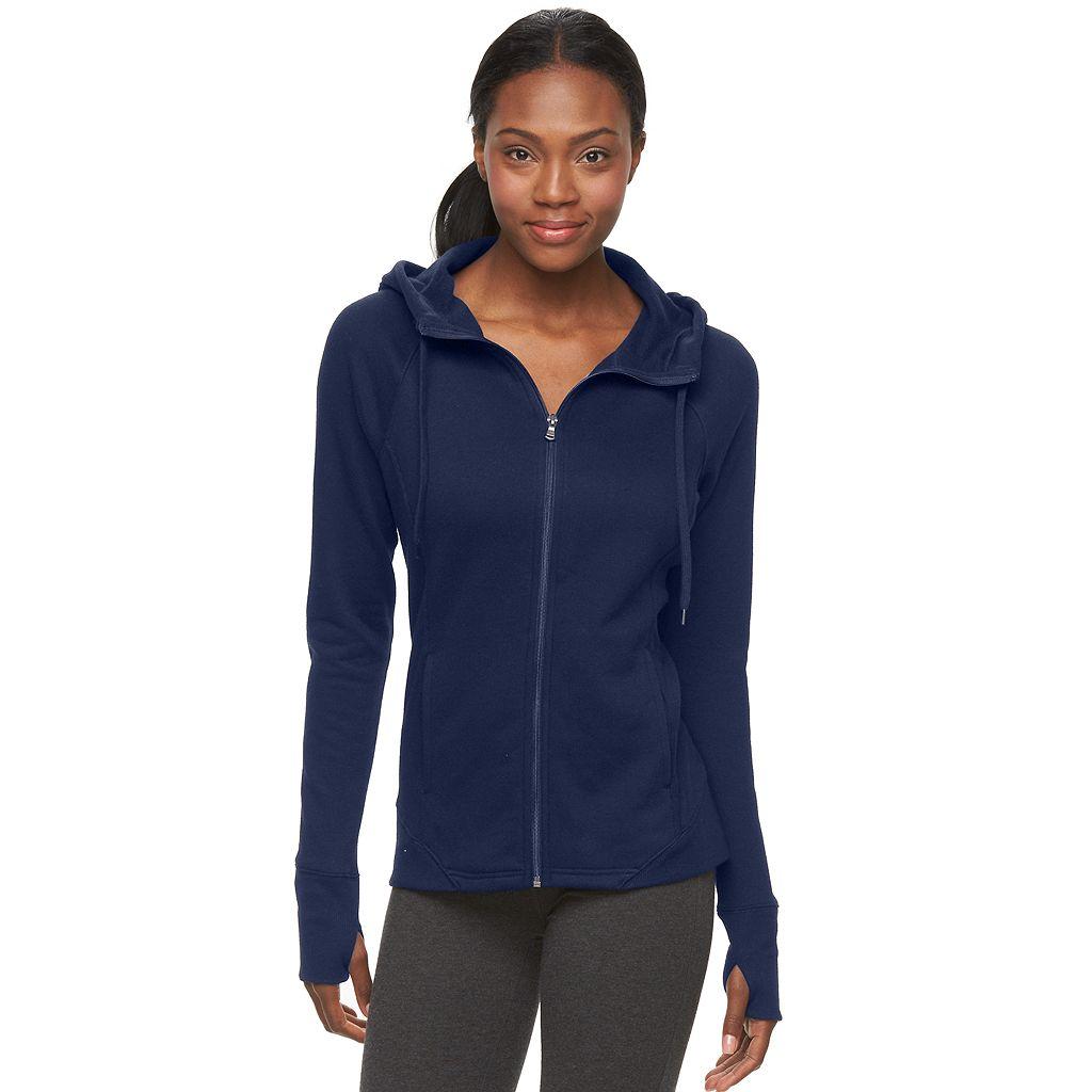 Women's Tek Gear® Full-Zip Fleece Hoodie