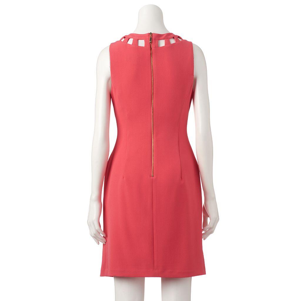 Women's Jessica Howard Cutout A-Line Dress