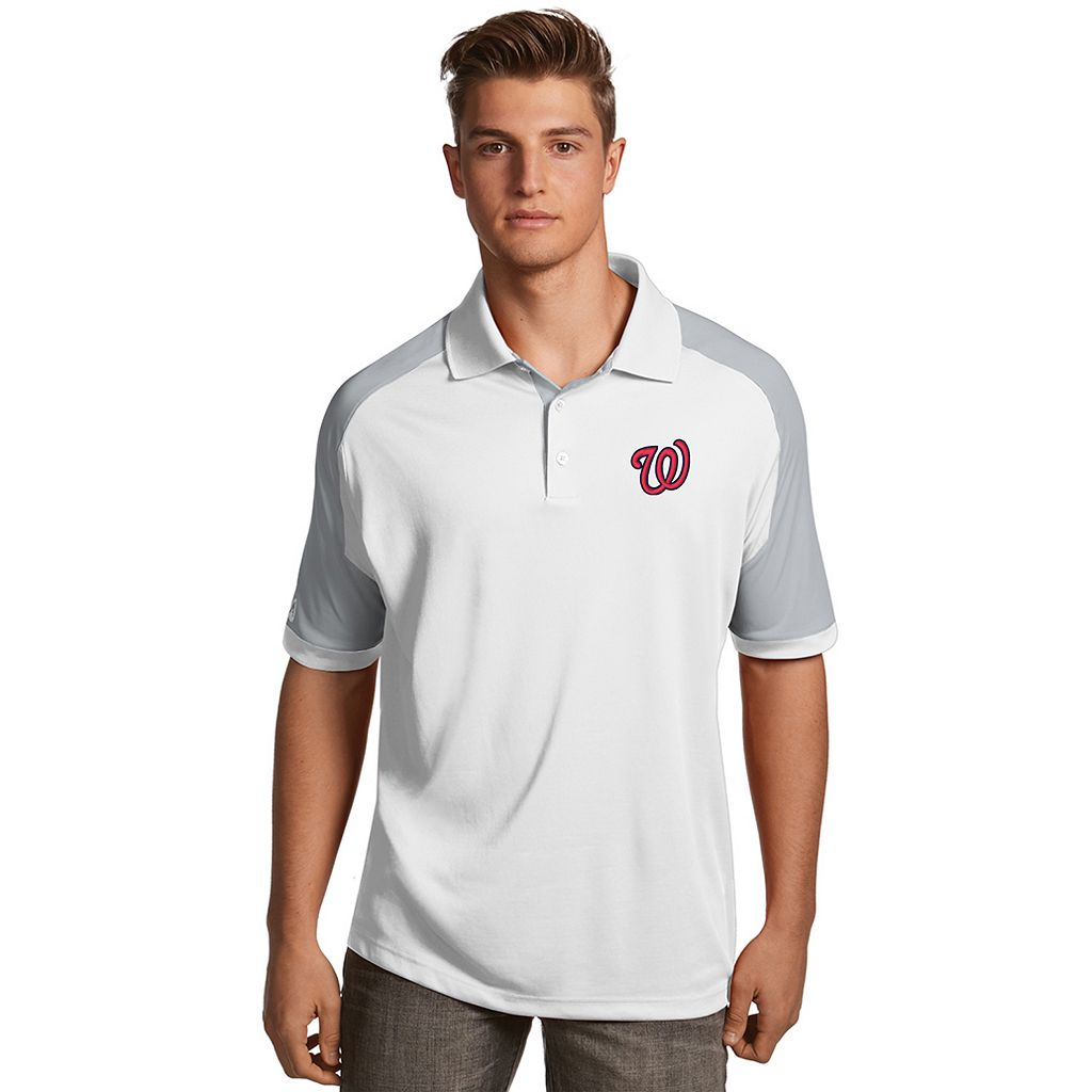 Men's Antigua Washington Nationals Century Polo