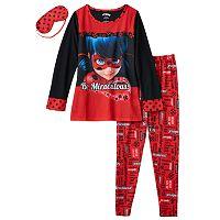 Girls 4-10 Miraculous Ladybug Pajama Set