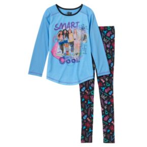 """Girls 4-10 Project MC² """"Smart Is The New Cool"""" Pajama Set"""