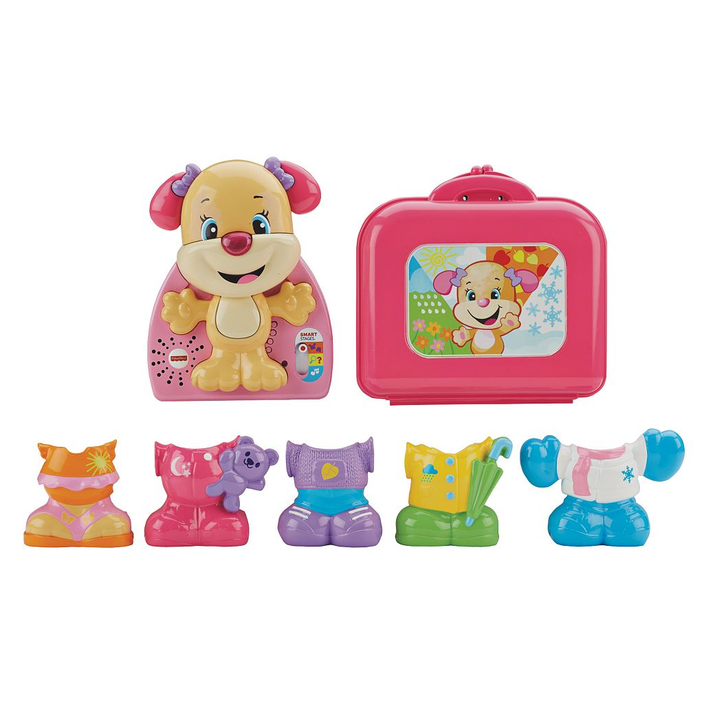 Fisher-Price Laugh & Learn Dress & Go Sis Puppy