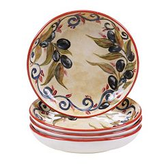 Certified International Umbria 4 pc Soup Bowl Set