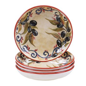 Certified International Umbria 4-pc. Soup Bowl Set