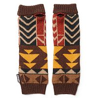 MUK LUKS Gaucho Geometric Arm Warmers