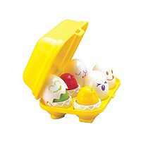 TOMY Hide N Squeak Eggs Toy Set