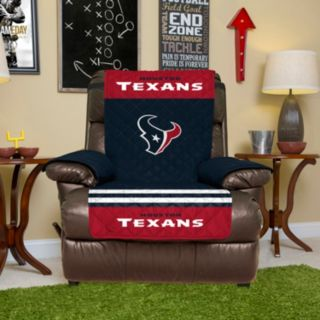 Houston Texans Quilted Recliner Chair Cover