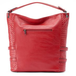 Mellow World Cheryl Laced Quilted Hobo
