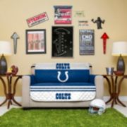 Indianapolis Colts Quilted Loveseat Cover
