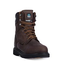 McRae Industrial Men's Waterproof Steel-Toe Work Boots