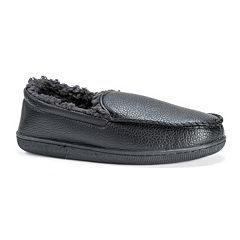 38978b25d855 MUK LUKS Men s Moccasin Slippers