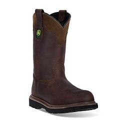 John Deere Men's Steel-Toe Western Work Boots
