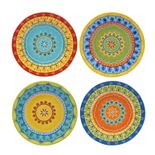 Certified International Valencia 4-pc. Dessert Plate Set