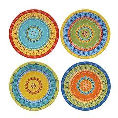 Certified International Valencia 4-pc. Dessert Plate Set