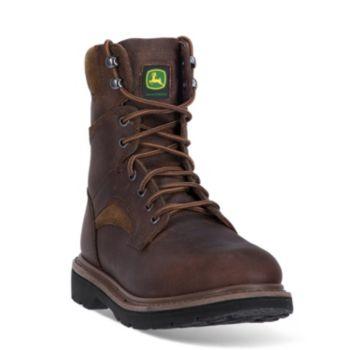 John Deere Men's Lace-Up Work Boots