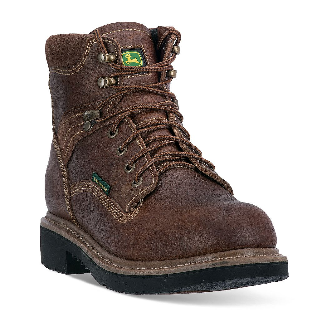 John Deere Men's Low Waterproof Steel-Toe Boots