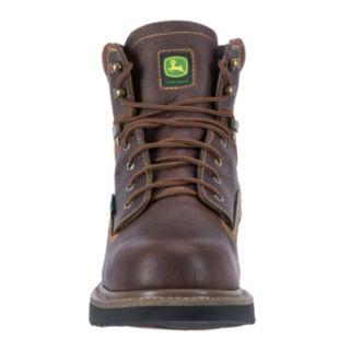 John Deere Men's Low Waterproof Steel-Toe Boots