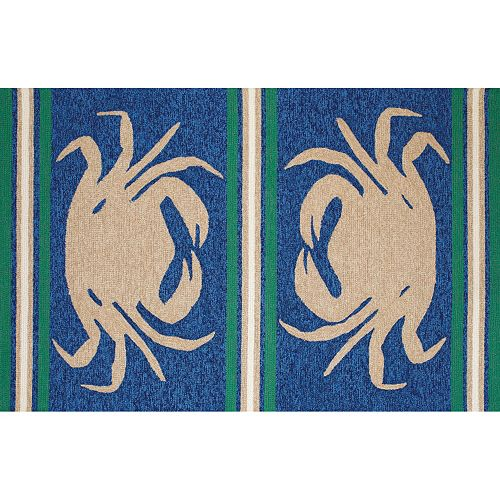 United Weavers Panama Jack Signature Crab Shack Rug
