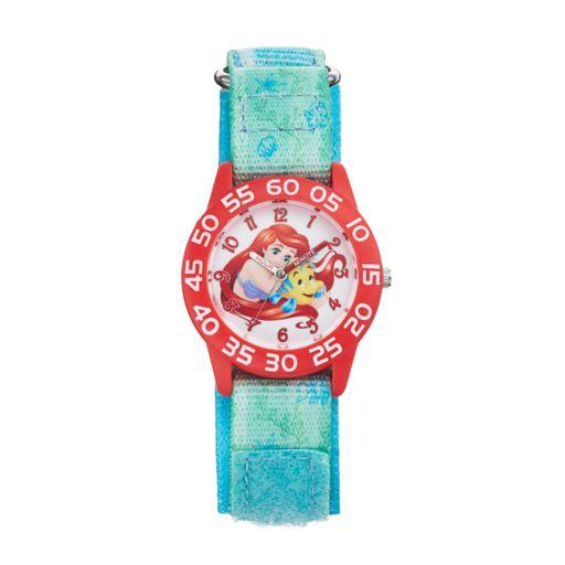 Disney's The Little Mermaid Ariel & Flounder Kids' Time Teacher Watch