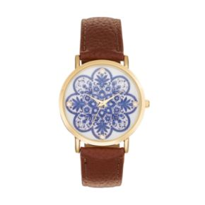 Women's Crystal Floral Watch
