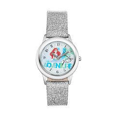 Disney Princess Ariel 'Up for Adventure' Kids' Leather Watch