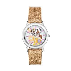 Disney Princess Belle 'Believe in You' Kids' Leather Watch