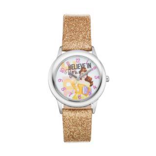 "Disney Princess Belle ""Believe in You"" Kids' Leather Watch"
