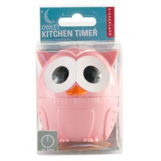 Kikkerland Owl Kitchen Timer