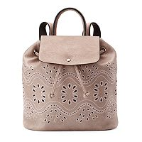Mellow World Addy Perforated Backpack
