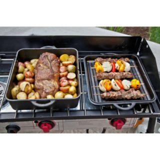 Camp Chef 16.25-in. Cast-Iron Square Dutch Oven