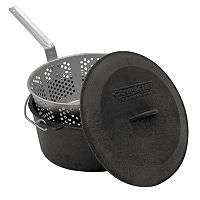 Champ Chef 2-pc. Pre-Seasoned Cast-Iron Pot
