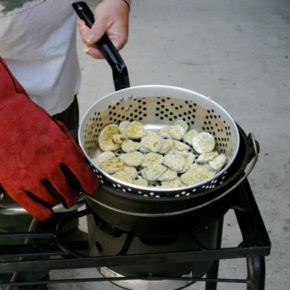 Champ Chef 2-pc. Pre-Seasoned Cast-Iron Pot
