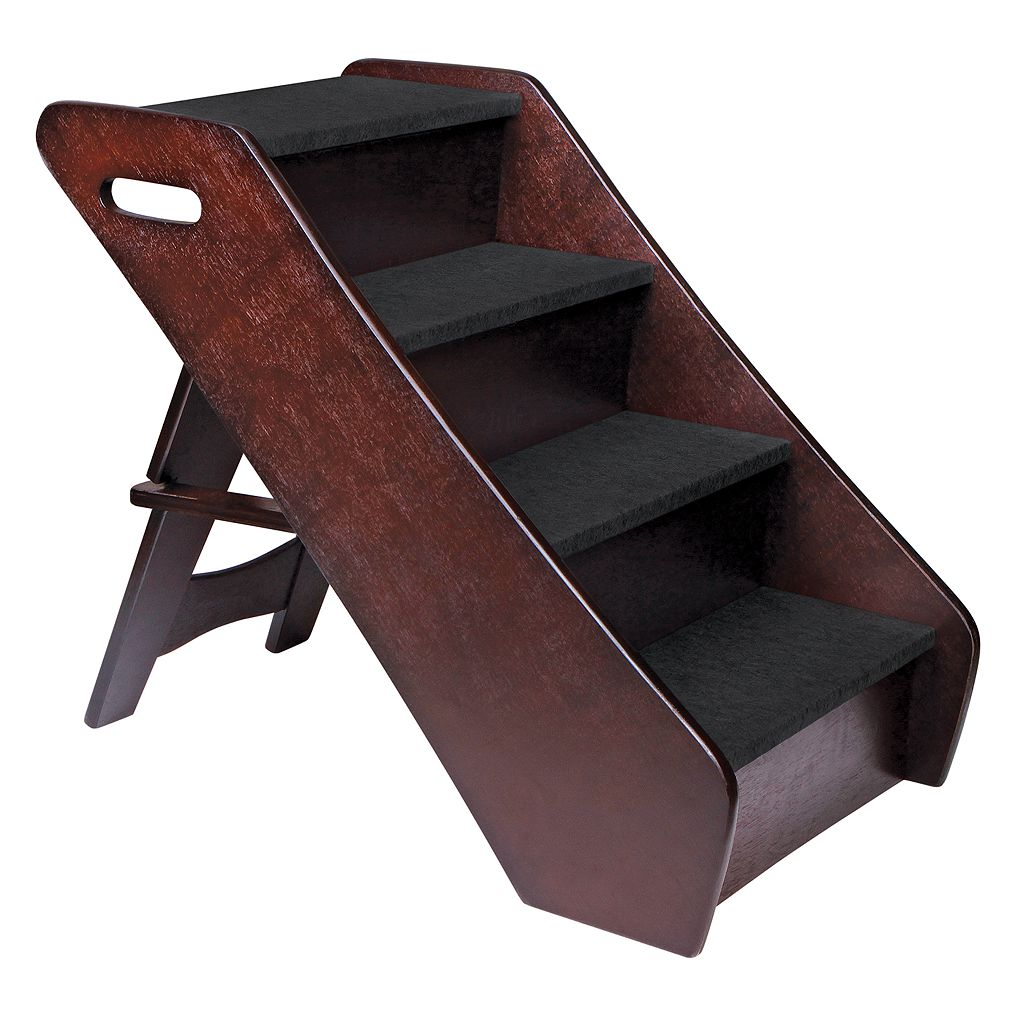 Animal Planet 4-Step Wooden Pet Stairs