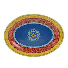 Certified International Valencia Oval Serving Platter