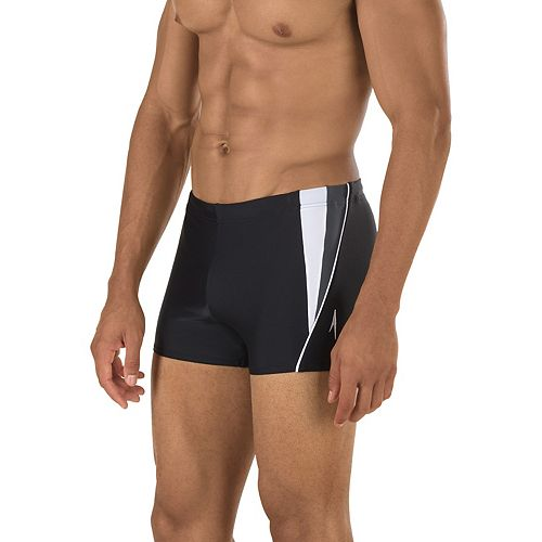 Men's Speedo Fitness Square-Leg Swim Shorts