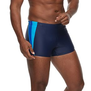 Men's Speedo Fitness Square-Leg Swim Shorts