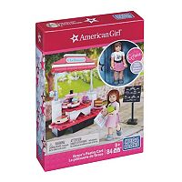 Mega Bloks American Girl Grace's Bakery Cart Set