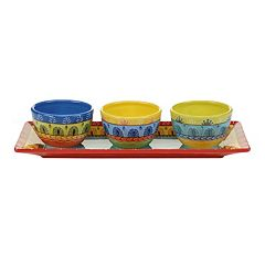 Certified International Valencia 4 pc. Serving Set