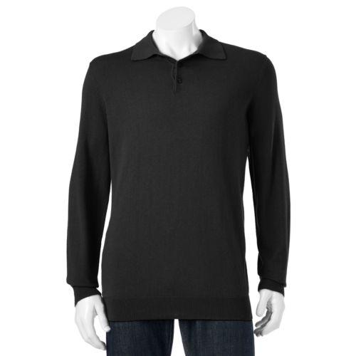 Men's Croft & Barrow® Classic-Fit 12gg Solid Polo