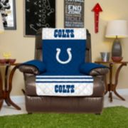 Indianapolis Colts Quilted Recliner Chair Cover