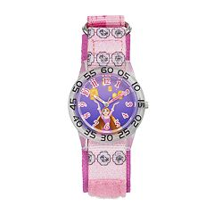 Disney Princess Rapunzel 'Be Strong' Kids' Time Teacher Watch